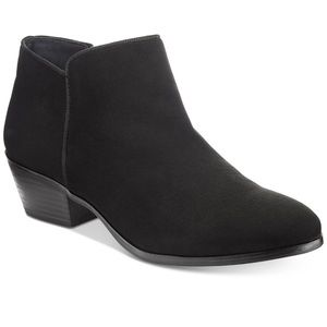 (New in Box) Black Suede Booties